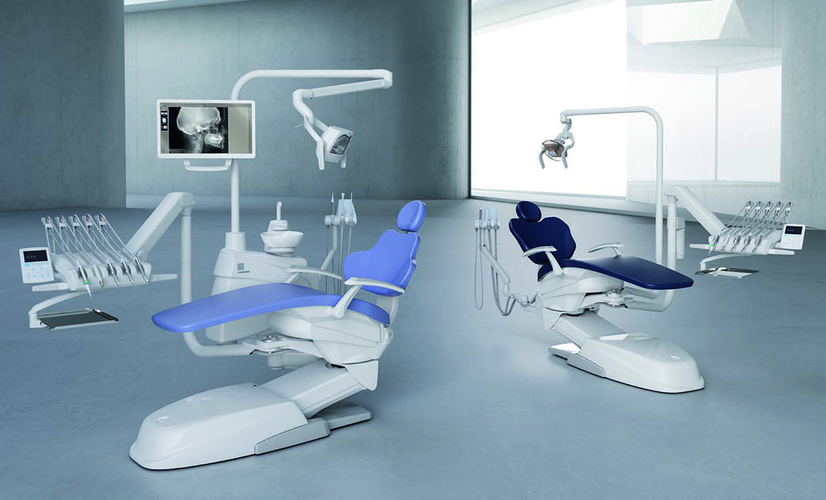 Stern Weber S210LR Dental Chair - Continental