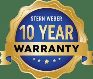 SW 10 year warranty logo